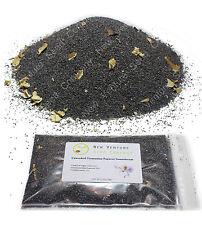 60,000 UNWASHED POPPY SEEDS Tasmanian Papaver somniferum Afghan A+ Organic !!!
