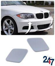 NEW BMW 1 SERIES E81 E87 M SPORT FRONT BUMPER HEADLIGHT WASHER COVER PAIR SET