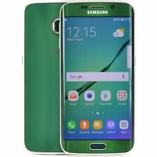 Samsung galaxy s6 edge LTE 4 G Déverrouillé Smartphone 32 Go 16mp Android Green