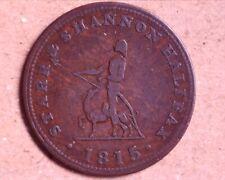Star & Shannon 1815 Halfpenny Nova Scotia Token - Breton 884 - Charlton NS-11A1