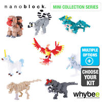 New! 2016 Range of Nanoblock Mini Collection Nano Micro Building Blocks Age 12+