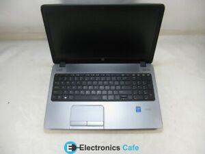 "HP 450 G1 15"" Laptop 2.4 GHz i3-4000M 4GB RAM Grade B No Battery, Caddy, Webcam"