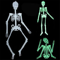 2018 Newly Halloween Luminous Human Skeleton Hanging Party Scary Skull Decor