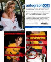 ALY MICHALKA signed Autographed 8X10 PHOTO A - EXACT PROOF - HOT Sexy ACOA COA