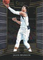 2018-19 Select Basketball #8 Jalen Brunson RC Dallas Mavericks