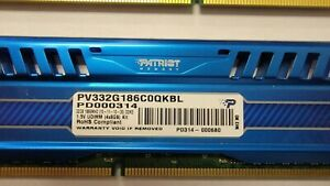 Patriot 32GB(4x8GB) Viper III DDR3 1866MHz (PC3 15000) CL10 Desktop Memory With