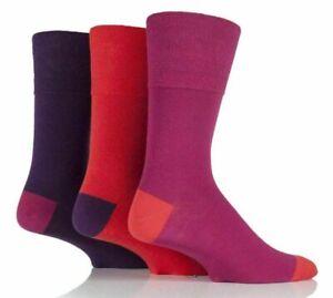 Mens Socks 3,6,12 Pair Gentle Grip Non Elastic Diabetic Soft Cotton UK Size 6-11