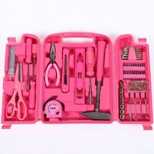 Preisknüller 88 Teiliges Werkzeugset Werkzeugkoffer Werkzeugkiste in Pink