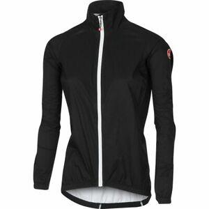 Castelli Cycling Emergency Rain Jacket Men's Black 3XL