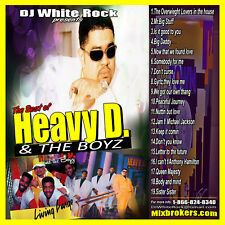 DJ White Rock The best of Heavy D & The Boyz