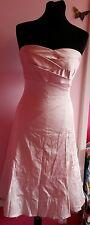 Bridesmaid Warehouse Dress Strapless Midi Pink Net Size 8 RRP £65 BNWT