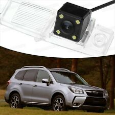 4 LED CCD Rearview Camera Reverse Parking Backup for Subaru Forester 2014-2016