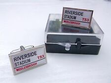 MIDDLESBROUGH BORO BADGE STREET SIGN MENS CUFFLINKS GIFT