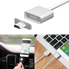 New Micro USB Magnetic Adapter Charger Cable Metal Plug For Android Samsung LG