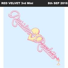 RED VELVET RUSSIAN ROULETTE 3rd Mini Album CD+Photo Book+Card