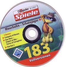 CBS PC-Spiele: 183 Vollversionen + Moorhuhn-Schatzjäger (Demo mit 3 Spielstufen)