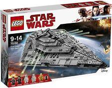 LEGO ® 75190 Star Wars First Order Star Destroyer NEU OVP New