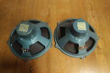 TESLA vintage speakers ARO 835, big AlNiCo fullrange, NICE pair, klangfilm 13'