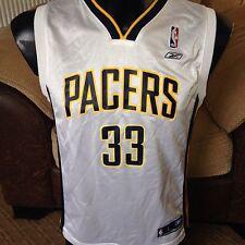 NBA Indiana Pacers Danny GRANGER #33 Basket Jersey Shirt Girocollo Da Uomo Grande
