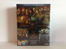 Pirates of the Caribbean - the complete 5 movie collection (Blu-ray) *BRAND NEW*