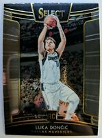 2018 18-19 Panini Select Luka Doncic Rookie RC #25, Dallas Mavericks