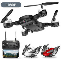 Foldable Long Endurance Drone  WIFI FPV 1080P HD Camera RC Quadcopter Drones