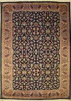 Rugstc 6x9 Senneh Pak Persian Blue Area Rug, Hand-Knotted,Mahal with Silk/Wool