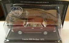 "DIE CAST "" LANCIA 2000 BERLINA - 1971 "" + TECA RIGIDA BOX 2 SCALA 1/43"