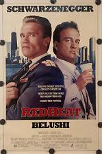 RED HEAT Original 27 X 41 SS/Rolled Movie Poster 1988 - SCHWARZENEGGER/BELUSHI