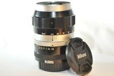 Nikon F Nikkor-Q 13.5cm f/3.5 135mm NON-AI mount PRIME lens Nippon Kogaku