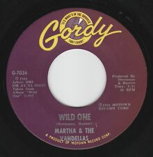 """R & B / DOO WOP ~ MARTHA & THE VANDELLAS ~ GORDY 7036 """" WILD ONE"""" 1964"""