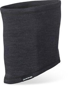 New Dakine Linden Merino Wool Neck Tube Black Neck Warmer Facemask