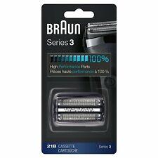 Braun schersystem 21b (antes 32b negro) a marrón afeitadora serie 3