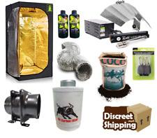 Complete grow tent kit 600w Light Fan Kit coco set up Hydroponics Canna 1m2