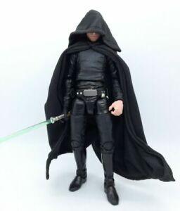 Black Cape With Hat for Star Wars Black Series Luke Sky walker (No Figure)