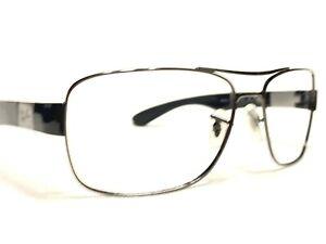Ray Ban RB3522 004/71 Men's Gunmetal & Black Aviator Eyeglasses Frames 61/17
