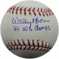 Wally Moon Hand Signed Autographed MLB Baseball LA Dodgers '59 WS Champs