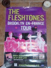 FLESHTONES - BROOKLYN EN FRANCE !! RARE FRENCH POSTER TOUR !!!!!!!