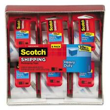 """Scotch Super Strong Packaging Tape With Dispenser - 2"""" Width X 66.60 Ft Length -"""