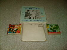 FOUR.8MM FILMS MARX BROTHERS, ABBOTT & COSTELLO, THE LION, FRENCH FOLLIES