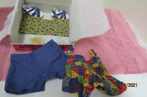 NIB NEW American Girl Julie Patchwork Outfit Historical Doll Clothes Complete