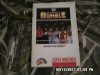 Royal Rumble WWF (SNES Super Nintendo) Instruction Manual Booklet Only.. NO GAME
