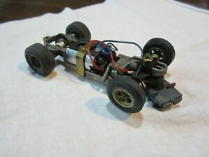 Used Vintage Cox 1/32 Scale Cheetah Slot Car Chassis Complete (see pictures)