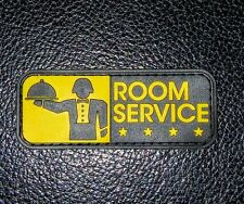 ROOM SERVICE MORALE USA ARMY SWAT PVC VELCRO® BRAND PATCH