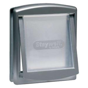 Petsafe Staywell Original Pet Door - Grey / Silver - Large