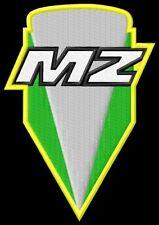 MZ new Logo Aufnäher iron-on patch