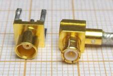 Connector coaxial - gold plated - ( MALE + FAMALE ) [M3-Z]MF