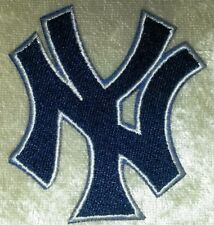 New York Yankees Blue NY Iron /Sew On Embroidered Patch~FREE Ship!