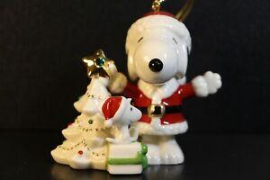 Peanuts Snoopy Porcelain Lenox NIB