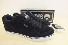 Osiris Shoes Shuriken Low Black Suede Sneakers NEW US Men's 9 EU 42 LOOK